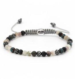 Karma Karma Bracelet 84368 Spiral Madness xxs (grey crystal)