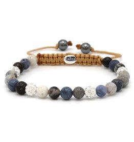 Karma Karma Bracelet 83569 Spiral Moves XS (white crystal)