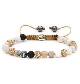 Karma Karma Bracelet 83451 Spiral Coffee Cup XS (gold crystal)