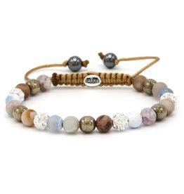 Karma Karma Bracelet 83576 Spiral Arctic XS (white crystal)