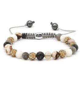 Karma Karma Bracelet 83453 Spiral Gold Sheen XS (gold crystal)