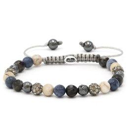 Karma Karma Bracelet 83478 Spiral This is It XS (grey crystal)