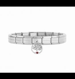Nomination Nomination Zilverkleurige Armband Link Tree of Life
