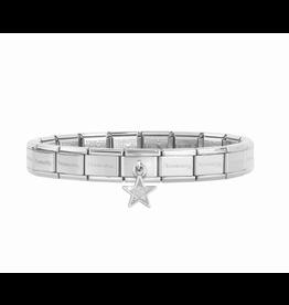 Nomination Nomination Armband Glitter Ster Hanger