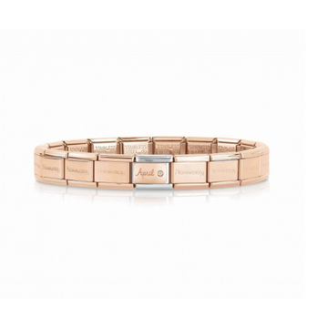 Nomination Nomination Rosé Armband April Birthstone