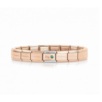 Nomination Nomination Armband May Birthstone Rosé