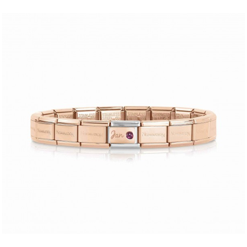 Nomination Nomination Armband January Birthstone Rosé