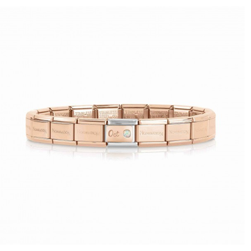 Nomination Nomination Armband October Birthstone Rosé