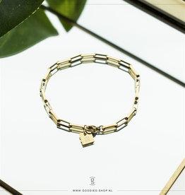 Zag Bijoux Zag Bijoux Bracelet Chain Goudkleurig