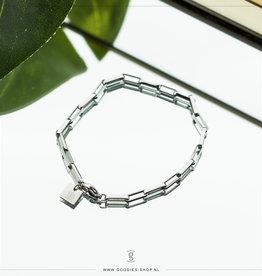 Zag Bijoux Zag Bijoux Bracelet Chain Zilverkleurig