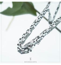 Zag Bijoux Zag Bijoux Necklace Chain Zilverkleurig