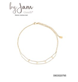 By Jam Gioielli By Jam Ketting Hope Goudkleurig