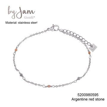 By Jam Gioielli By Jam Armband Nude Beads Zilverkleurig