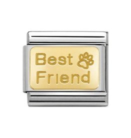 Nomination Nomination Link 030121/50 Best Friend Footprint