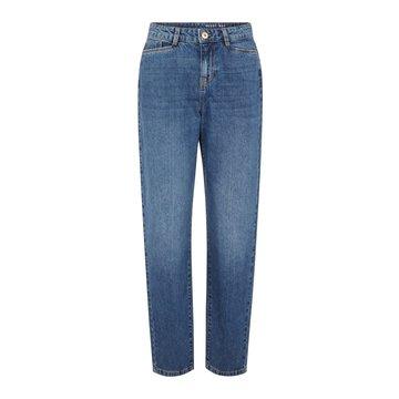 Noisy May Noisy May Straight  Denim Jeans Medium Blauw