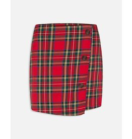 Sisters Point Sisters Point Got Red/Check Skirt