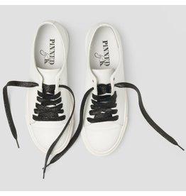 Pinned by K Shoe Laces Glitter Black