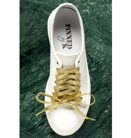 Pinned by K Shoe Laces Glitter Light Gold