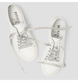 Pinned by K Shoe Laces Glitter Silver