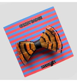 Pinned by K Limited Bowtie Feather Orange