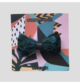 Pinned by K Limited Bowtie Feather Green