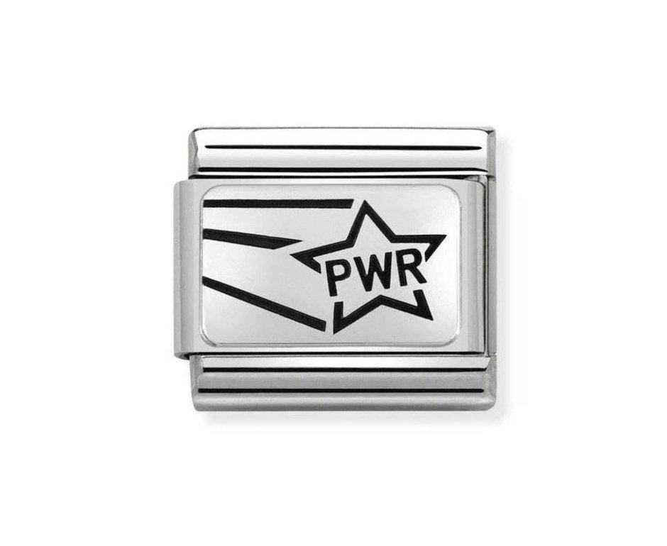 Nomination Nomination Link 330109/19 PWR Star (girlpower)