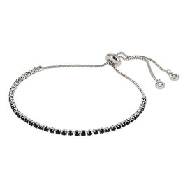 Kalli Kalli Bracelet 2584 Zilverkleurig Zwart