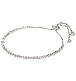 Kalli Kalli Bracelet 2584 Zilverkleurig Crystal