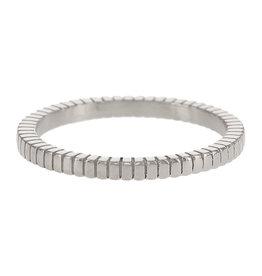Kalli Kalli Ring 4044 Zilverkleurig