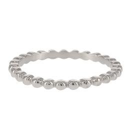 Kalli Kalli Ring 4045 Zilverkleurig