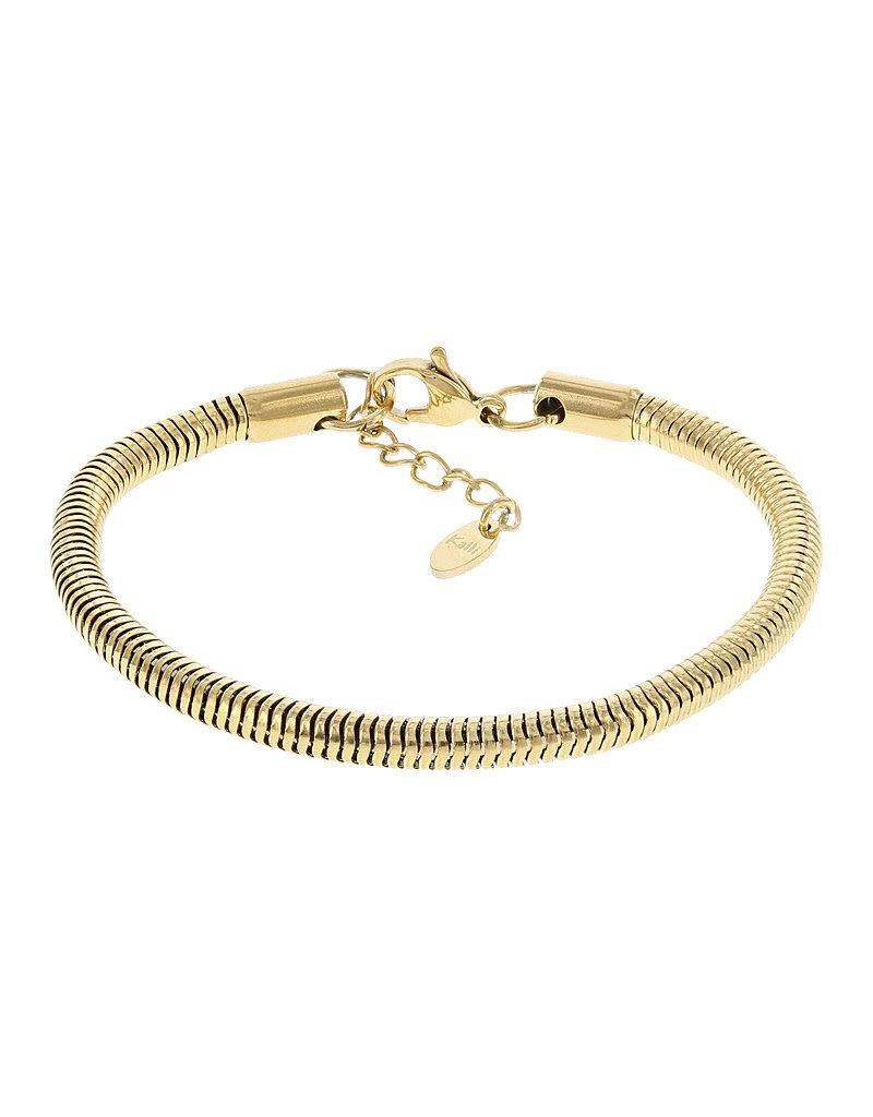 Kalli Kalli Bracelet 2553 Goudkleurig