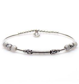 Karma Karma Bali Style Bracelet Zilver