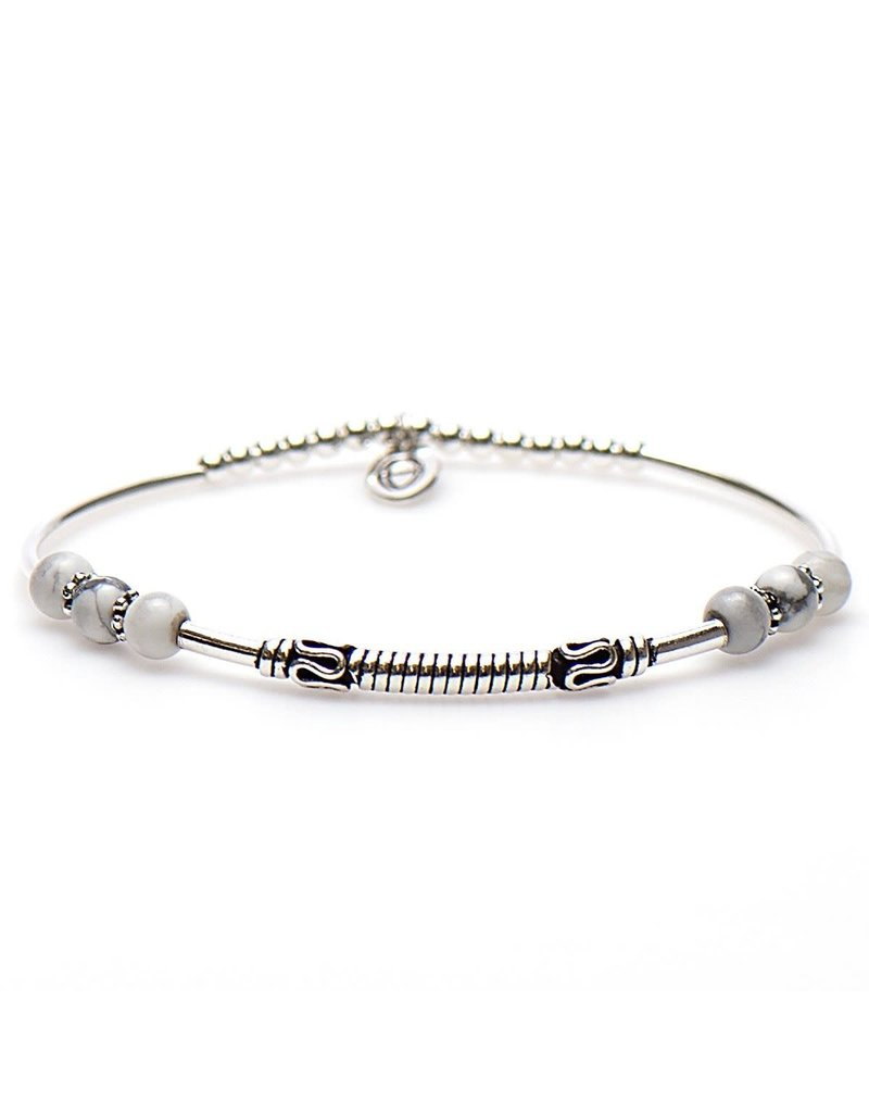 Karma Karma Bali Style Bracelet Silver 92267