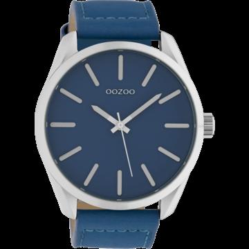 Oozoo Timepieces Oozoo Horloge Mykonos Blue