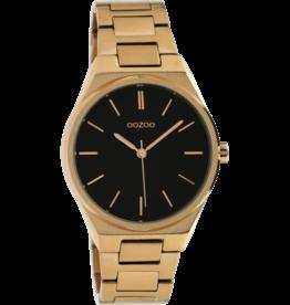Oozoo Timepieces Oozoo Horloge Rosé-Zwart