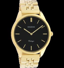Oozoo Timepieces Oozoo Horloge Goudkleurig-Zwart