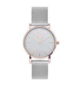 iKKi Horloges Ikki Jamy JM08 Rosé-Zilverkleurig