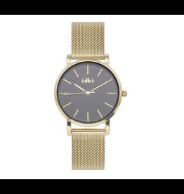 iKKi Horloges iKKi Rose RSE05 Goudkleurig-Zwart