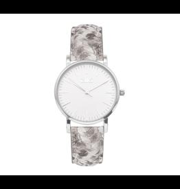 iKKi Horloges iKKi Rose RSE07 Python Zilverkleurig