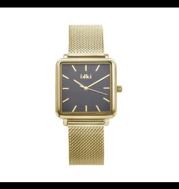 iKKi Horloges iKKi Tenzin TE03 Goudkleurig-Zwart