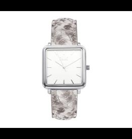 iKKi Horloges iKKi Tenzin TE13 Python Zilverkleurig