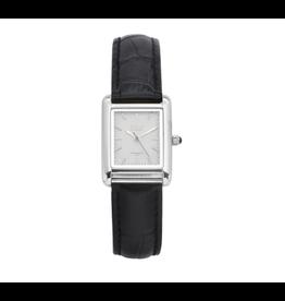 iKKi Horloges iKKi Trace TRC04 Zwart-Zilverkleurig