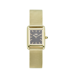 iKKi Horloges iKKi Trace TRC03 Zwart-Goudkleurig