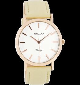 Oozoo Timepieces Oozoo Horloge Zandkleurig