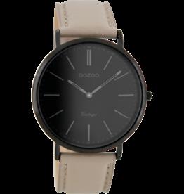 Oozoo Timepieces Oozoo Horloge Taupe/Black C8152