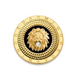 Mi Moneda Mi Moneda Gouden Munt Met Leeuw & Swarovski