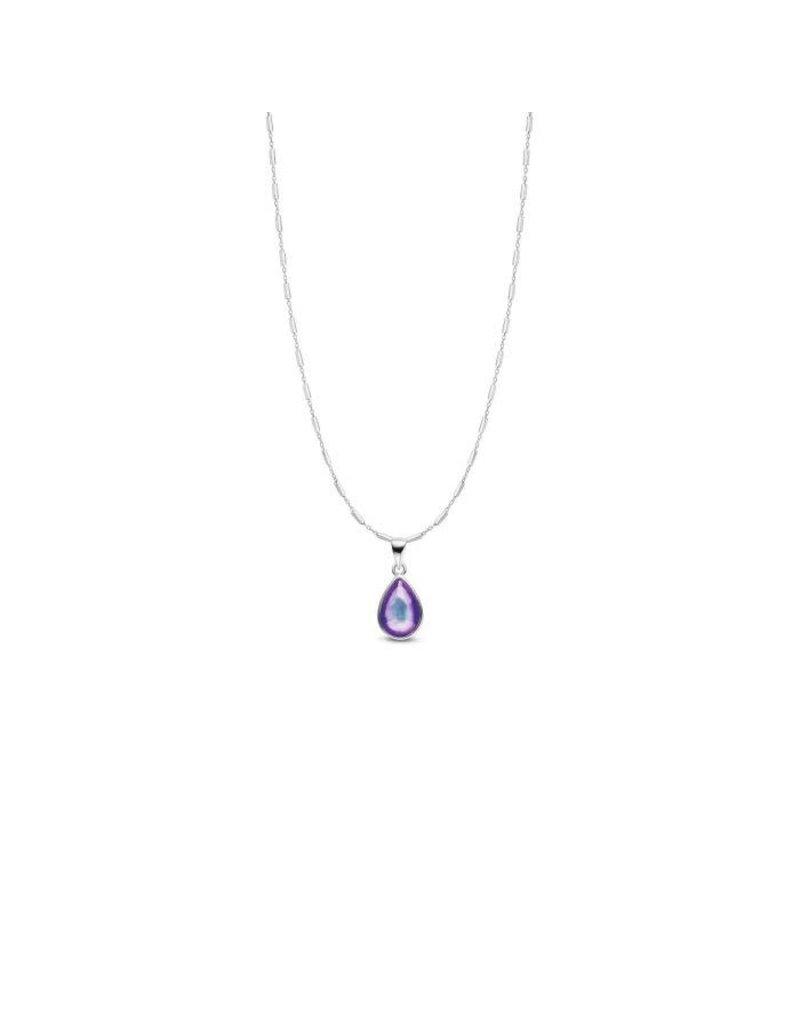 Mi Moneda MMV Bliss Mood Pendant Necklace Set Zilverkleurig