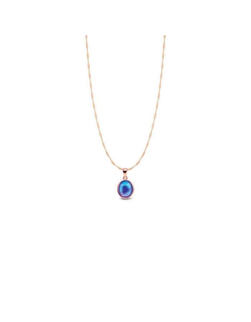 Mi Moneda MMV Joy Mood Pendant Necklace Set Goudkleurig