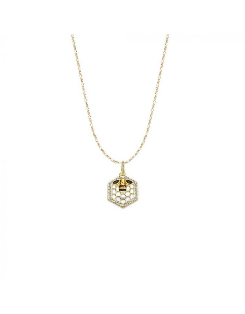 Mi Moneda MMM Honey Bee Necklace Set Goudkleurig