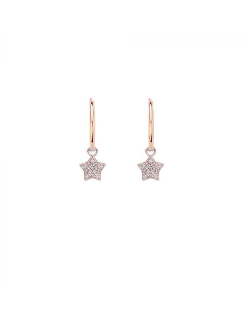 Mi Moneda MMM Nola Star Earring Set Rosé